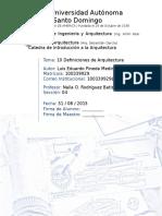 1. Diez Definiciones de Arq (Investigacion)