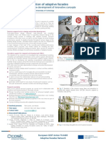 Modeling and simulation of adaptive facades