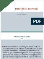 Alumbramiento Normal y Patològico