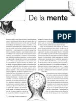 De La Mente Al Conocimiento Mediante La Ciencia Cognitiva