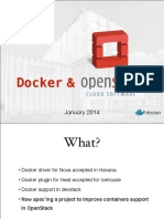 Openstack Docker Rackspace Hq