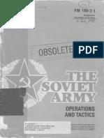 Soviet Tactics 1984, fm 100-2-1