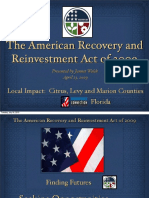 American Recovery and Reinvestment Act, Marketing Plan
