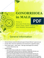 Male Gonorrhoea