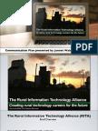 Rural Technology Communication Plan