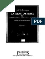 La Semiosfera III