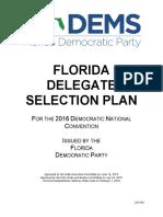 FloridaDemocratic 2016DelegateSelectionPlan v8.2