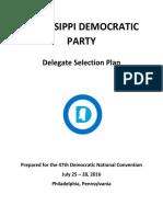 MississippiDemocratic_2016DelegateSelectionPlan