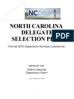 NorthCarolinaDemocratic_2016DelegateSelectionPlan