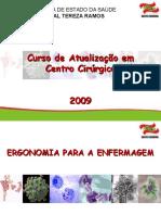 Aula Centro Cirúrgico 02 - Ergonomia