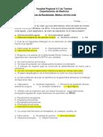 Examen de Residentado Nefrologia 24.1.16