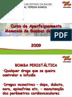 Aula Centro Cirúrgico - Bombas de Infusão