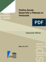 Política Social, DesarrPolítica Social, Desarrollo y Pobreza en Venezuela