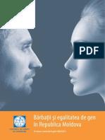 Studiul_Bărbații Și Egalitatea de Gen În Republica Moldova