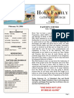 church bulletin 2-14-2016 4pages