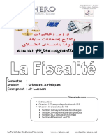 Fiscalite, Cours
