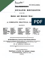 Mackenzies Five Thousand Receipts-1854