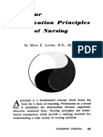 Levine 1967 Nursing Forum
