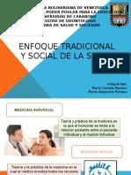 Enfoque Tradicional y Social de La Salud