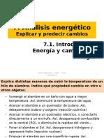 7 1 Introducción Energía y Cambios