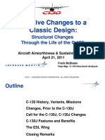 C 130 Structural Changes Through Its Life