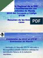 Resumen Enmiendas Manila Al Convenio Stcw