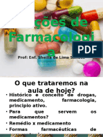 Noções Farmacologia