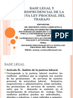 Diplomado Procesal Laboral Marco Legal Jurisprudencial 1