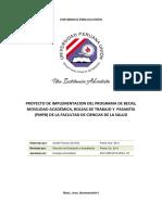 FV - 176 Proyecto Del Programa de Becas y Movilidad – PBM