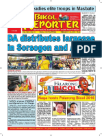 Bikol Reporter February 7 - 13, 2016 Issue