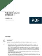 Syndicate 3 ExxonValdez Week2