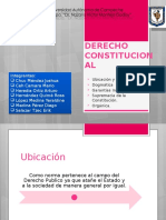 Derecho Constitucional (Exposicion)