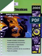 Autodata Motocicletas 1991-2005 - Manual Tecnico Fichas Ed2005 515pag (SP)