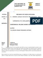 Reporte Conferencia Peligro Sismico Del Estado de Oaxaca
