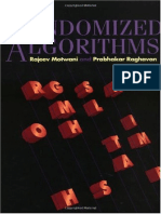 Rajeev Motwani, Prabhakar Raghavan-Randomized Algorithms-Cambridge University Press (1995) (1)