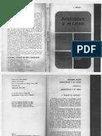 J. Brun, Aristóteles y El Liceo