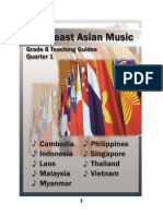 Grade 8 Teaching Guide in Music q1- Southeast Asia