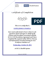ucla hippa privacy and info security certification