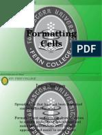 4 - Formatting Cells