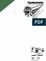 hydrovane hv07 manual