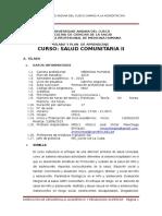 SÍLABO MEDICINA COMUNITARIA 2  I 2015.doc