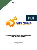 Muestra de Formulas Productos