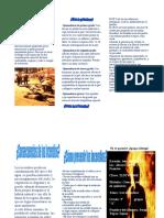 Un incendio es una ocurrencia de fuego no controlada que puede abrasar algo que no está destinado a quemarse