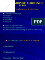 Classification of Endodontic Flaps