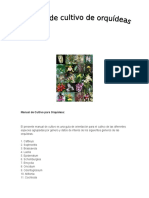 Manual de Cultivo de Orquideas