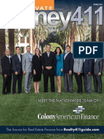 Private Money411 Featuring Colony American Finance DRAFT COPY