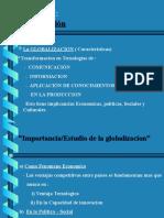 Capitulo I Globalizacion