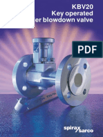 KBV20 Key Operated Boiler Blowdown Valve