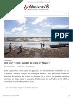 Río San Pedro, caudal de vida en Nayarit _ SubVersiones