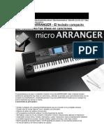 Korg Microarranger